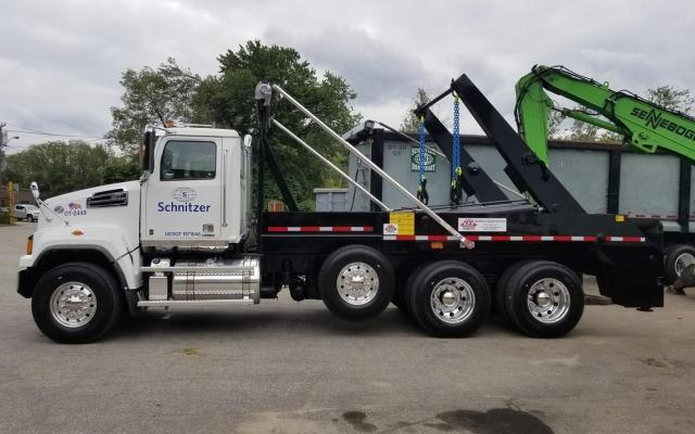 Ace Lugger Hoist Truck in New England Scrap Yard