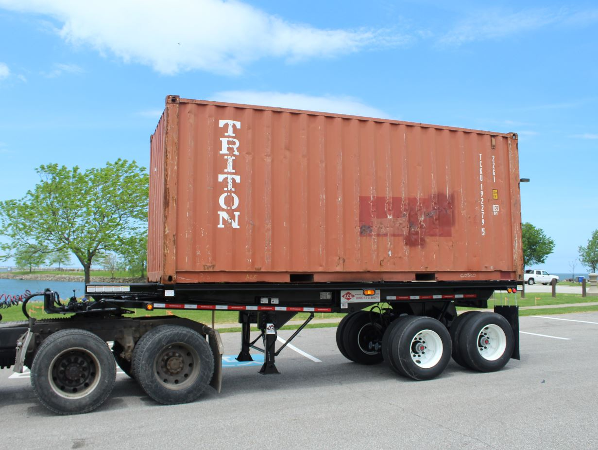 Ace 20' Intermodal Dump Trailer