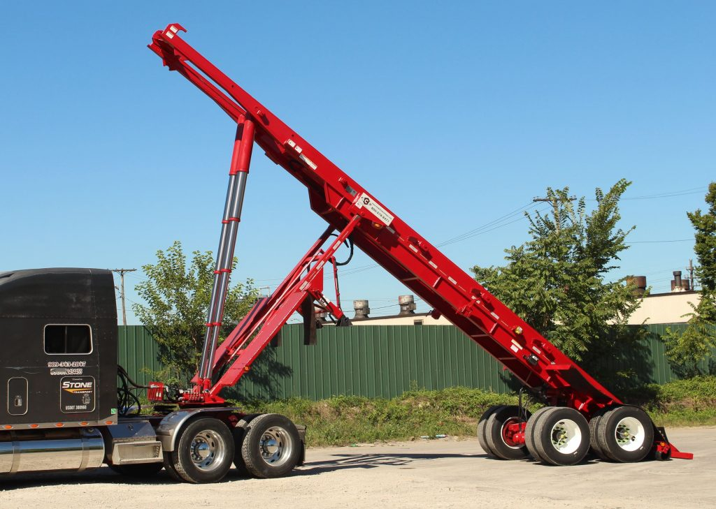 Ace Roll Off Trailer Stone Transport